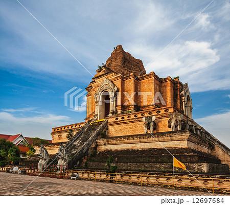 Wat Chedi Luang. Chiang Mai, Thailand 12697684