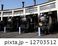 蒸気機関車館 梅小路蒸気機関車館 SLの写真 12703512