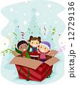 クリスマスプレゼント クリスマス ギフトのイラスト 12729136