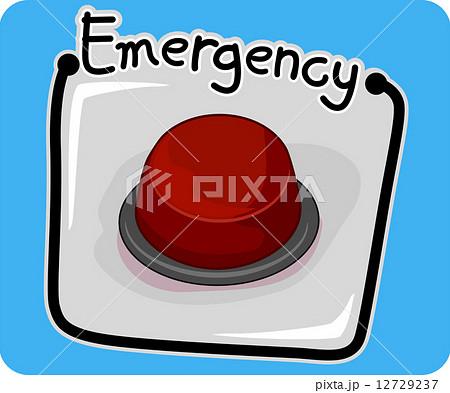 Emergency Buttonのイラスト素材 [12729237] - PIXTA