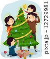クリスマス ベクトル 絵のイラスト 12729981