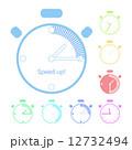 時間 タイマー 時計のイラスト 12732494