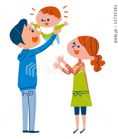 赤ちゃんと親 12735381