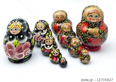 Russian figurinesの写真素材 [12735627] - PIXTA