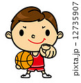 SD男性 バスケットボール 12735907