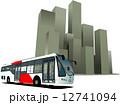街 都会 都市のイラスト 12741094