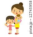 主婦 ママ 子供 赤ちゃん 12745958