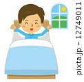 早起き 快眠 ベッド【二頭身・シリーズ】 12749011