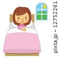 睡眠不足 寝不足 ベクターのイラスト 12752261