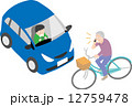 自転車の危険運転 12759478