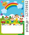 園児 動物 ポスター 12759932