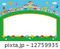 先生 子供 動物のイラスト 12759935