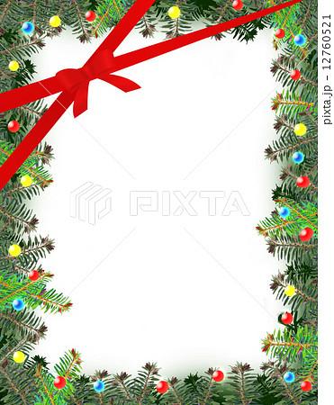 クリスマスフレームのイラスト素材 12760521 Pixta