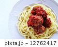 スパゲティー スパゲティ ミートボールの写真 12762417