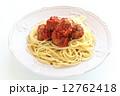 スパゲティー スパゲティ ミートボールの写真 12762418