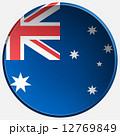 australia 3d round button 12769849
