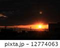 朝焼け 夜明け 日の出の写真 12774063
