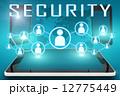 セキュリティ セキュリティー 安全のイラスト 12775449