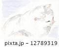 猫 動物 日本猫のイラスト 12789319