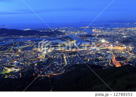 皿倉山の夜景 12789353