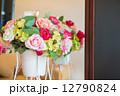 バラ 鉢 カラフルの写真 12790824
