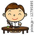 SD男性 食事 和食 12795895