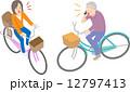 自転車の運転マナー 12797413