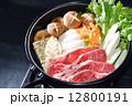 すき焼き すき焼 すき焼き鍋の写真 12800191
