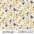シームレス 柄 芝居小屋のイラスト 12801122