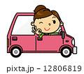 SD女性 車 12806819
