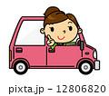 SD女性 車 12806820