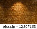 レンガ スポットライト バックグラウンドの写真 12807163