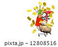 未年 ひつじ年 年賀状のイラスト 12808516