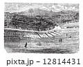 ブライトン 歴史的な 建造物のイラスト 12814431