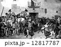 闘牛 セビーリャ 入り口のイラスト 12817787