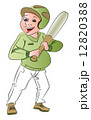 Vector of baseball batsman. 12820388