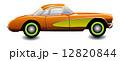 Classic sports car, illustration 12820844