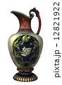 装飾 つぼ 花瓶のイラスト 12821922