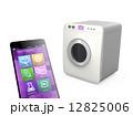 スマートフォンで洗濯機を制御する。 12825006