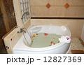 Bathroom with flowers at the luxury villa, Phuket, Thailand 12827369