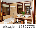 Bathroom at modern luxury villa, Samui island, Thailand 12827773