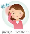 風邪の女性 症状 12836158