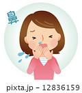 風邪の女性 症状 12836159
