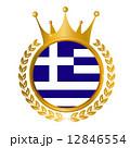ギリシャ 国旗 メダル 12846554