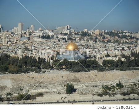 イスラエル エルサレム 岩のドーム 12860217