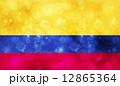 国旗 コロンビア ベクターのイラスト 12865364