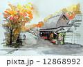 京都・鳥居本のスケッチ 12868992