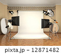 Photo studio with lighting equipment. Flashes, softboxes and ref 12871482