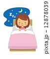 女性 睡眠 ベッド 安眠【二頭身・シリーズ】 12878039