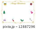 クリスマスカード 12887296